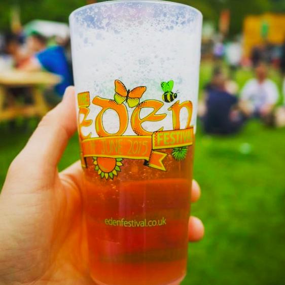 Eden Festival- Eco-cups