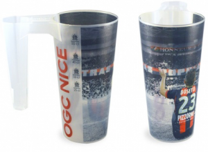 Branded Customised Cups with Handles