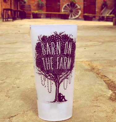Festival Printed Cups Barn on The Farm