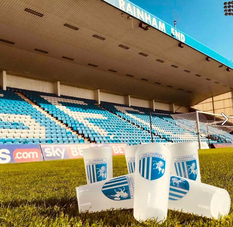 Football Club Uses Eco-Friendly Cups