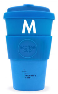 Bamboo Coffee Cups | 1 Colour Print to Cup | 2 Positions
