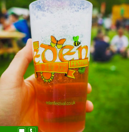 Eden Festival Re-usable Cup