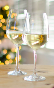 Printed Wine Glass Festival