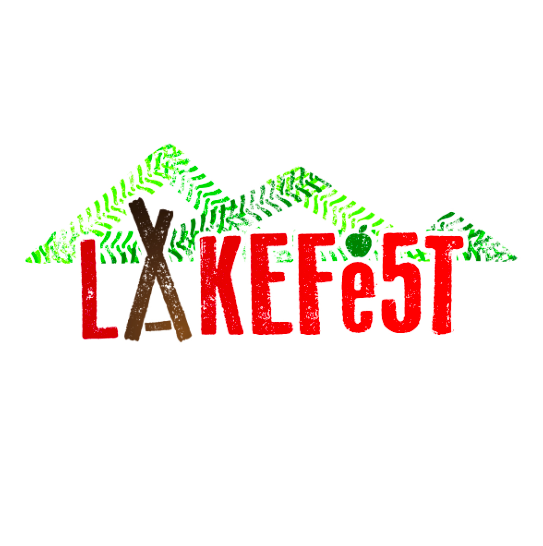 Lakefest Festival Re-usable Printed Cuos