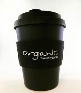 Organic Printed Bamboo Coffee Cup