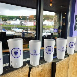 beer cups for outside pub beer gardens