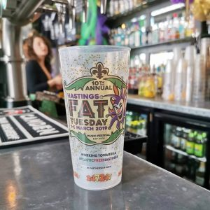 pint cups for beer gardens and pubs