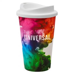 Universal Tumbler Full Colour White