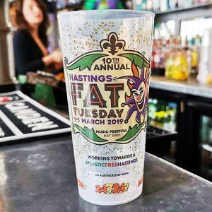 Beer Garden Printed Cup